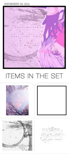"""""""THGIR T'NSI DAEH YM-story-"""" by hanabusa ❤ liked on Polyvore featuring art, purple, vocaloid, shortstory, kaito and HanaReader"""