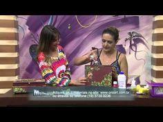 Mulher.com 05/12/2014 - Caixa Quebra Nozes Natal por Marisa Magalhães - Parte 2 - YouTube