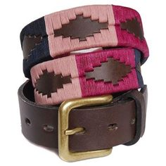 Ladies Argentine Polo belt - Mother's Day gifts from Fur Feather and Fin