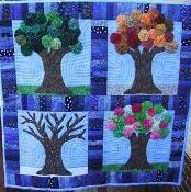 The Four Seasons of a Tree - via @Craftsy