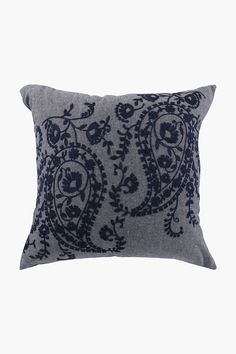 Embroidered Paisley Scatter Cushion, 50x50cm - Shop New In - Home Déc Scatter Cushions, Throw Pillows, Home Decor Shops, Paisley, Cover, Image, Design, Toss Pillows, Small Cushions