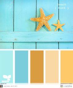 Color Palettes-living room bathroom