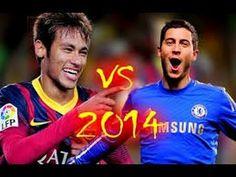 Neymar Jr & Eden Hazard Skills Battle- Who is the best?