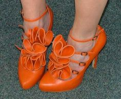 Orange Shoes!