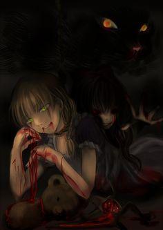 .............well this got dark......