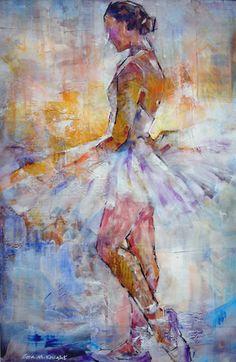 Ballet & Dance Calendars & Fine Art Prints - Calendars & Prints of Stunning Ballet & Dance Paintings by Woking Surrey Artist Sera Knight