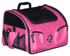 $78.95 - The 3-In-1 Bike Basket Pet Carrier is the most convenient way to travel with your small pet. It also functions as a carrier and carseat too. Available S and L in BLACK, PINK, LAVENDER, BLUE and GREEN at Sugar Chic Couture