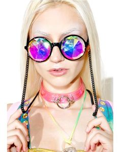 Mosaic Kaleidoscope Sunglasses