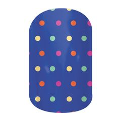 Sprinkled  nail wraps by Jamberry Nails