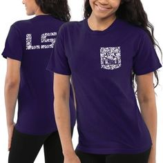 LSU Tigers Women's Coastal Lace T-Shirt – Purple