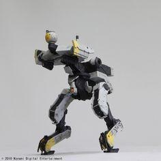 Zeke Figure from Metal Gear Peace Walker
