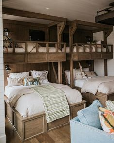 30 Amazing Loft Bedroom Design Ideas for Comfortable Sleep Having a . 30 Amazing Loft Bedroom Design Ideas for Comfortable Sleep Having a Minimalist Home is Bunk Bed Rooms, Kids Bunk Beds, Bedroom Loft, Home Bedroom, Bedroom Decor, Bedroom Furniture, Furniture Design, Master Bedroom, Furniture Layout
