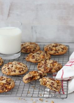Chewy Chocolate Chip Cookie Snickers Cookies | Bakers Royale