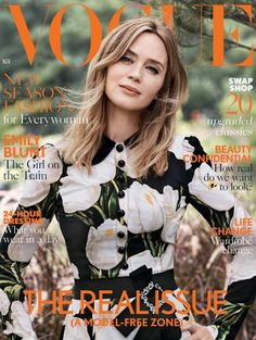 Emily Blunt Cover Star November 2016 British Vogue | British Vogue