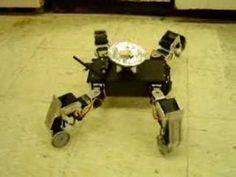 Quadruped Robot - Gait Motion - YouTube