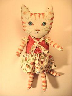 Cat art doll   Flickr - Photo Sharing!