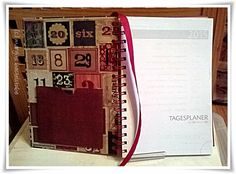 Buchkalender / Timeplaner Magazine Rack, Decor, Cards, Decoration, Decorating, Deco