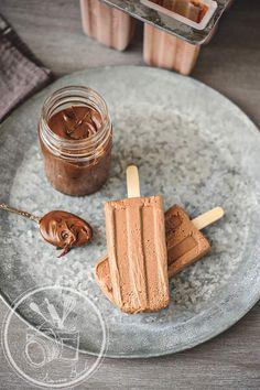 no-churn nutella ice cream pops