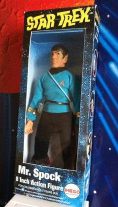 Mego Star Trek Vintage 1974 Spock Type 1 Clean Complete in Box