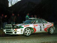 ra Didier Auriol - Bernard Occelli-Toyota Celica Turbo 4WD (ST185) Gr.A-Toyota Castrol Team-Rally Monte Carlo 1993