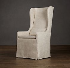 Slipcovered Wingback | Restoration Hardware