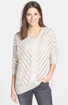 Dex Two-Tone Dolman Sleeve Sweater | Nordstrom