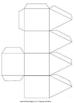 Free Printable Hanukkah Dreidel Craft templates. Remember to always ...