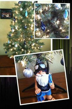 A Rays Christmas tree- I want this!