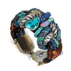 Blue Earth Bracelet by Alex & Lee $580 Save 20% off with code LOVELDL