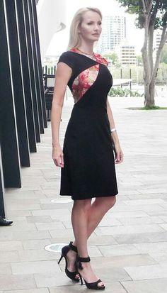 Abakus Design Splice it Up dress