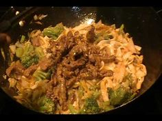 Low Carb Beef Lo Mein- Shirataki noodles Recipe