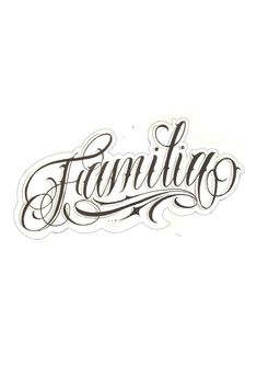 Chicano Tattoos Lettering, Tattoo Lettering Design, Clock Tattoo Design, Sketch Tattoo Design, Tattoo Script, Tattoo Fonts, Card Tattoo Designs, Family Tattoo Designs, Family Tattoos