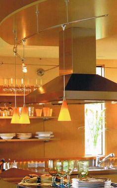 Elegante Und Ruhige Küche Beleuchtung Design Richtlinien