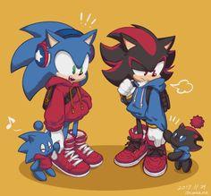 """hey! A shadow chao!"""