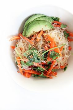 Inspired by the Asian flavors we all love, sesame, citrus and spice, this cold noodle salad recipe is both refreshing and satisfying.