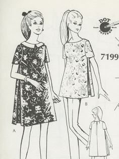 Dot Pattern System Deluxe: Maternity Dress and Top Baby Kimono, Japanese Sewing, Waterproof Backpack, Wallet Pattern, House Dress, Pattern Cutting, Gathered Skirt, Maternity Dresses, Card Wallet