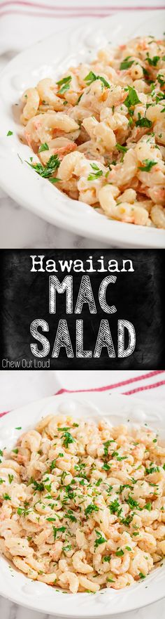 L&L Hawaiian BBQ's famous Mac Salad. Crazy easy, totally delicious. Great for all those spring/summer cookouts. #macaroni #salad #hawaiian