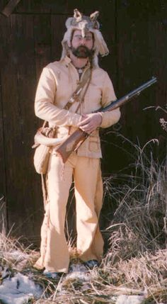 Black powder Mountain Man ...