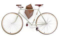 Awesome Oak Wood Bike Hanger #bikes