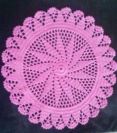 Como Hacer Un Tapete O Carpeta a Crochet en Español (1 parte)