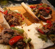 Lidia's Italy: Recipes: Italian Beef Sandwich