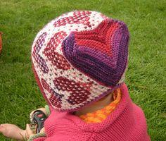 Sweet hearts baby bonnet