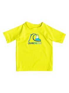 605a48dae9831 Bubble - Short Sleeve Rash Vest 3613371428952 | Quiksilver Bubbles, Infant,  Swim, Baby