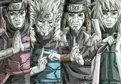 Your favourite hokage of the pic? . Follow me @objto for more . Credits to the owner. . Follow my other account