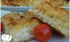 ΤΥΡΟΠΙΤΑ ΜΕ ΦΥΛΛΟ ΚΑΤΑΙΦΙ ΚΑΙ 4 ΤΥΡΙΑ!!! Greek Beauty, Baked Potato, Vegetarian, Favorite Recipes, Cheese, Cooking, Breakfast, Ethnic Recipes, Food