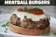 Meatball Burgers {Repost!}