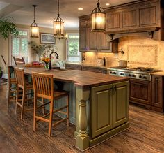 French country kitchen furniture design