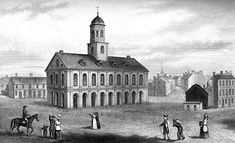 Faneuil Hall: Faneuil Hall in 1775