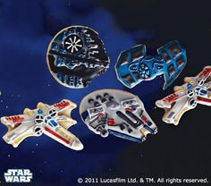 Star Wars™ Vehicles Cookie Cutters