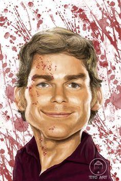 Dexter by mrTITOART